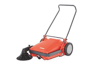 Walk-behind sweeper