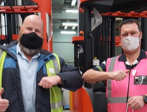 Toyota Industrial Equipment reach trucks to take Homechoice to new heights