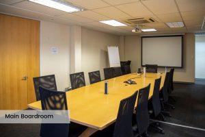 EIE Group Training Academy main boardroom