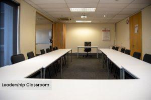 EIE Group Leadership classroom